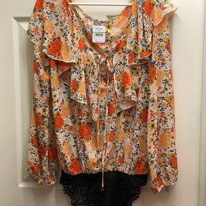 Free People intimates blouse